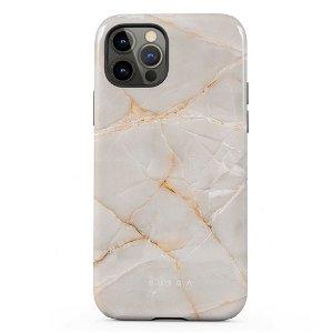 Burga iPhone 12 / 12 Pro Tough Fashion Deksel - Vanilla Sand