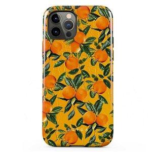 Burga iPhone 12 / 12 Pro Tough Fashion Deksel - Orange Lemonade