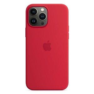 Original Apple iPhone 13 Pro Max Magsafe Silikondeksel PRODUCT(RED) (MM2U3ZM/A)