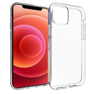 iPhone 12 / 12 Pro Diskret Fleksibelt Plast Deksel - Gjennomsiktig