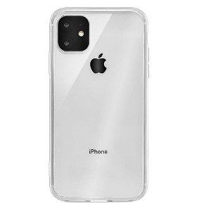 iPhone 11 QDOS Hybrid Clear Mobildeksel - Transparent