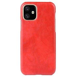 iPhone 11 Skinndekket Plastdeksel - Rød