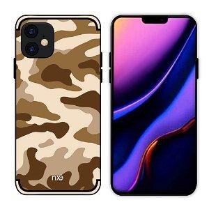 iPhone 11 NXE Camouflage Deksel - Brun