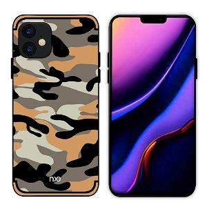 iPhone 11 NXE Camouflage Deksel - Oransje
