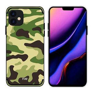 iPhone 11 NXE Camouflage Deksel - Lysegrønn