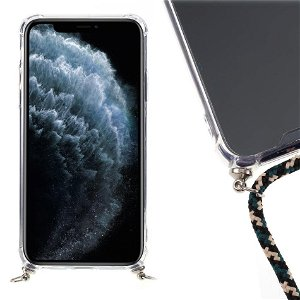 iPhone 11 Pro Fleksibel Plastik Deksel m. stropp - Rutete