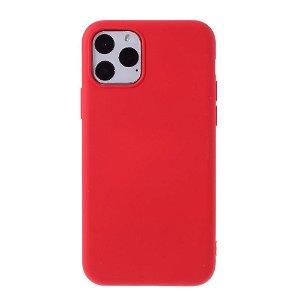 iPhone 11 Pro Mutural Soft Color Series Silikondeksel - Rød