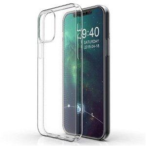 iPhone 12 Pro Max Bump Safe Fleksibelt Plastdeksel - Gjennomsiktig