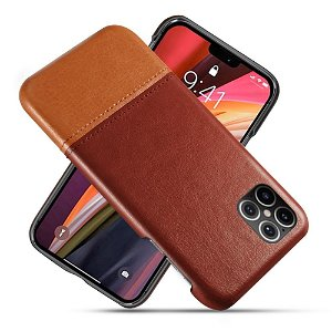 iPhone 12 Pro Max Skinn Bakdeksel - Brun