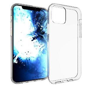iPhone 12 Mini Blødt Fleksibelt Plastdeksel - Gjennomsiktig