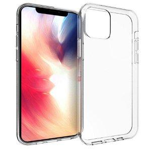 iPhone 12/12 Pro Fleksibelt Bakdeksel - Gjennomsiktig