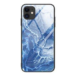 iPhone 12 Mini Bakdeksel m. Glass Bak - Bølger