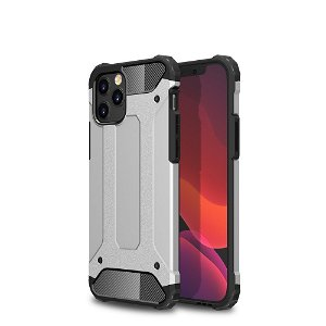 iPhone 12 Pro Max Armor Guard Deksel - Sølv