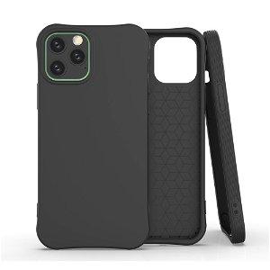 iPhone 12 / 12 Pro TPU Plast Deksel - Svart