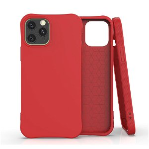 iPhone 12 / 12 Pro TPU Plast Deksel - Rød