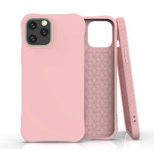 iPhone 12 / 12 Pro TPU Plast Deksel - Lyserød