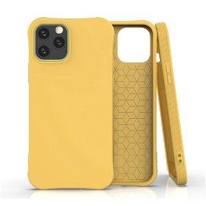 iPhone 12 / 12 Pro TPU Plast Deksel - Gul