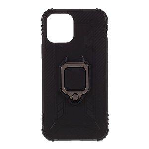 iPhone 12 / 12 Pro Deksel m. Magnetisk Støtte - Svart