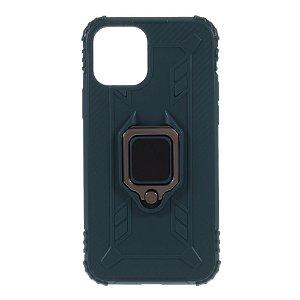 iPhone 12 / 12 Pro Deksel m. Magnetisk Støtte - Grønn