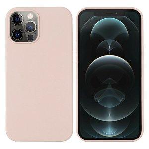 iPhone 12 / 12 Pro Silikondeksel Rosa MagSafe