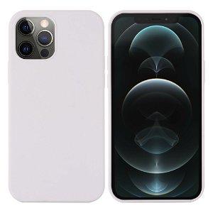 iPhone 12 / 12 Pro Silikondeksel Hvit MagSafe