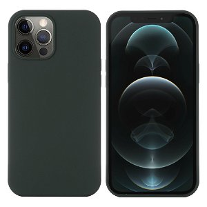 iPhone 12 / 12 Pro Silikondeksel Grønn MagSafe