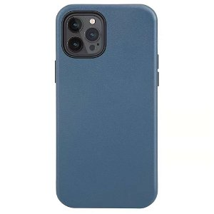 iPhone 12 Pro Max deksel PU Skinn - Kompatibel med MagSafe - Blå