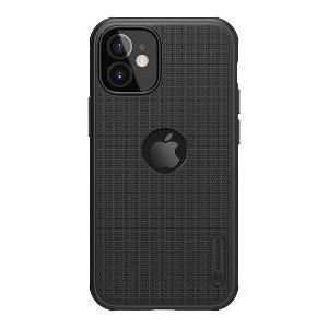 iPhone 12 Mini Nillkin Frosted Shield Deksel - MagSafe Kompatibel - Svart