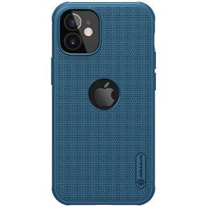 iPhone 12 Mini Nillkin Frosted Shield Deksel - MagSafe Kompatibel - Blå