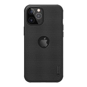 iPhone 12 Pro Max Nillkin Frosted Shield Deksel - MagSafe Kompatibel - Svart
