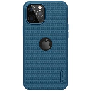 iPhone 12 Pro Max Nillkin Frosted Shield Deksel - MagSafe Kompatibel - Blå