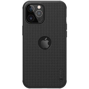 iPhone 12 / 12 Pro Nillkin Frosted Shield Deksel - MagSafe Kompatibel - Sort