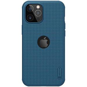 iPhone 12 / 12 Pro Nillkin Frosted Shield Deksel - MagSafe Kompatibel - Blå