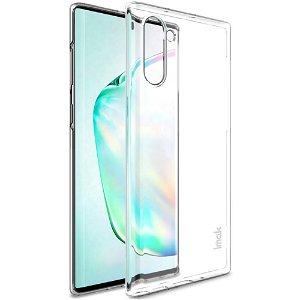 Samsung Galaxy Note 10 IMAK Crystal Clear Hård Plastik Deksel - Gjennomsiktig