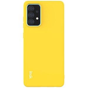 Samsung Galaxy A52s (5G) / A52 (4G / 5G) IMAK UC-2 Serien Fleksibel Plastdeksel - Gul