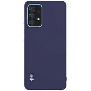Samsung Galaxy A52s (5G) / A52 (4G / 5G) IMAK UC-2 Serien Fleksibel Plastdeksel - Mørkeblå