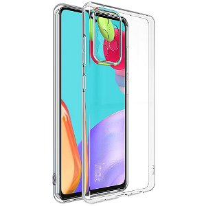 Samsung Galaxy A52s (5G) / A52 (4G / 5G) IMAK UX-5-serie Fleksibel plastdeksel - Gjennomsiktig
