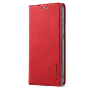 Samsung Galaxy A52s (5G) / A52 (4G / 5G) LC.IMEEKE Flipdeksel i Skinn med Lommebok- Rød