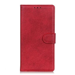 Sony Xperia 10 III Vintage Flip Deksel - Rød