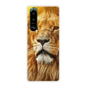 Sony Xperia 5 III Fleksibelt Plastdeksel - Løve