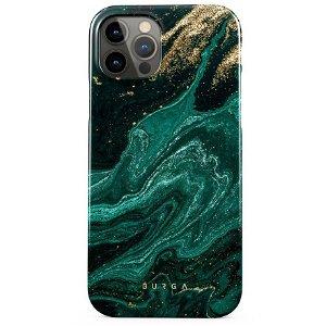 Burga iPhone 12 Pro Max Tough Fashion Deksel - Emerald Pool