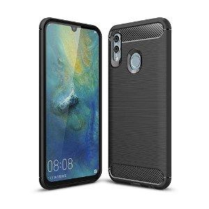 Huawei P Smart (2019) / Honor 10 Lite Svart Fleksibel Plastdeksel