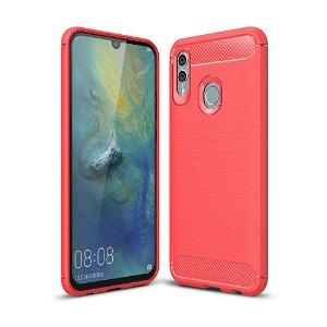 Huawei P Smart (2019) / Honor 10 Lite Rød Fleksibel Plastdeksel