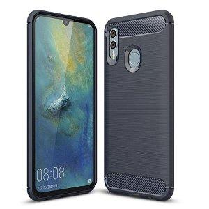 Huawei P Smart (2019) / Honor 10 Lite Mørk Blå Fleksibel Plastdeksel