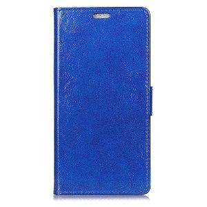 Huawei P30 Pro Blankt Skinndeksel med Lommebok Mørkeblå