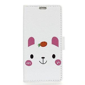Huawei P30 Pro Skinndeksel med Lommebok Lykkelig Kanin