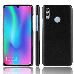 Huawei P Smart (2019) Litchi Skinn Tekstur Plastik Deksel Svart