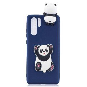 Huawei P30 Pro Fleksibel Plastik Deksel 3D Panda