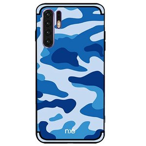 Huawei P30 Pro NXE Camouflage Deksel - Blå
