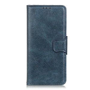 Huawei P40 Pro Skinn Deksel m. Lommebok - blå